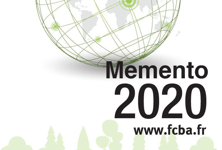 Parution du Memento filière bois par le FCBA, édition 2020