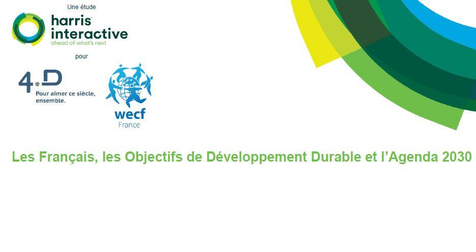 Enquête sur les français et les Objectifs de Développement Durable (ODD)