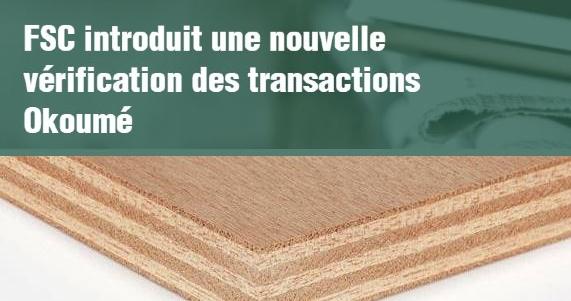 Nouvelle vérification des transactions Okoumé