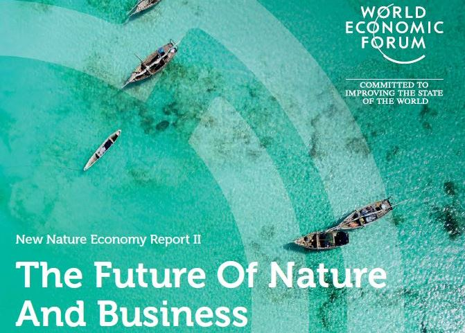 Worl Economic Forum : «The Future of Nature and Business»