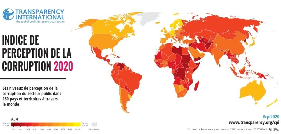 Edition de l'indice CPI 2020 pour 2021