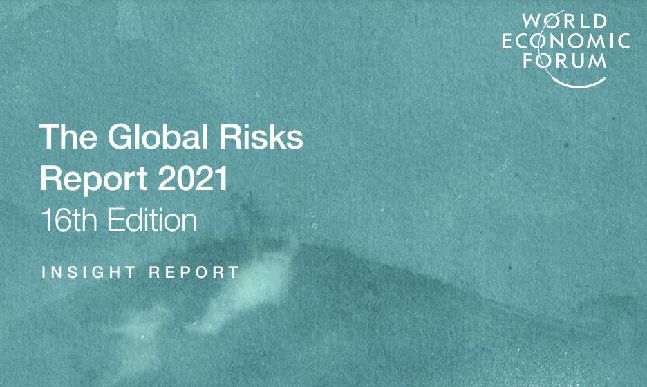 """Edition du """"Global Risks Report 2021"""" sur les risques mondiaux"""